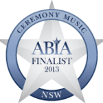 ABIA Finalist Best Wedding Ceremony Music (NSW) | DJ:Plus! Entertainment - 2013