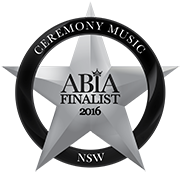 Finalist - Best Wedding Ceremony Music Sydney NSW